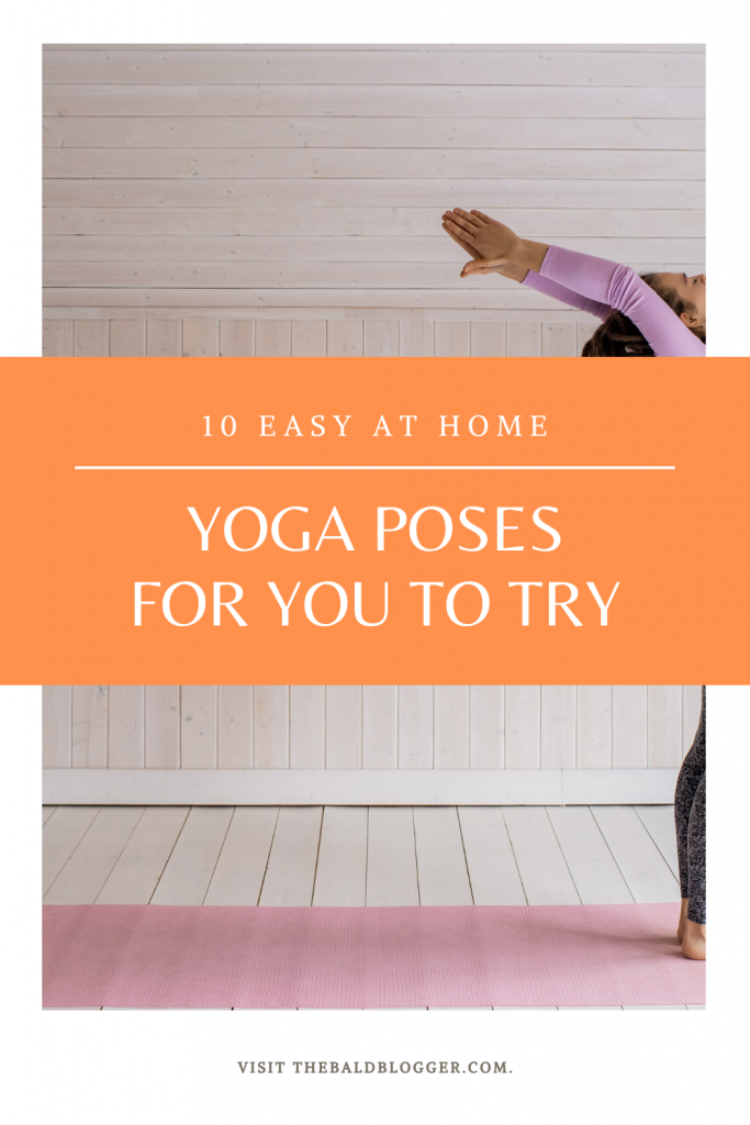 10 Easy At Home Yoga Poses