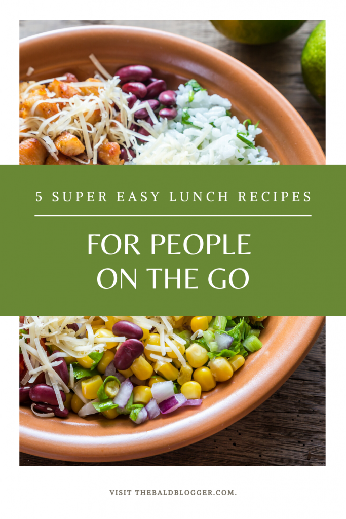 5 Easy Lunch Recipes On The Go