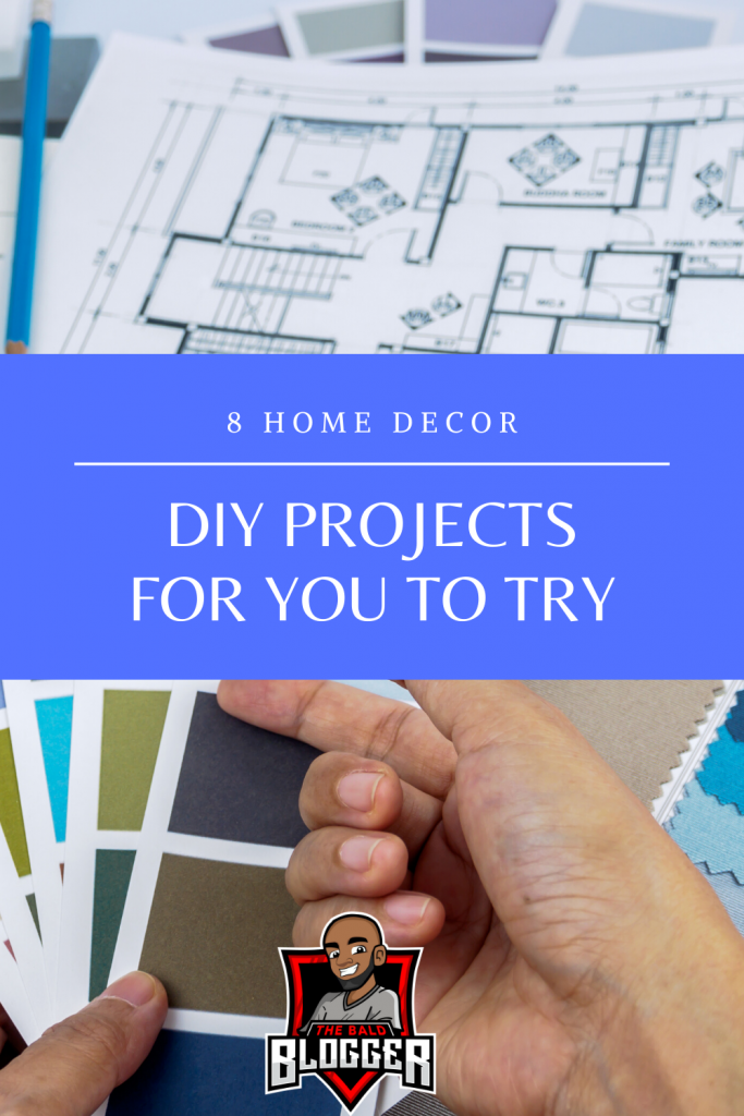8 Home Decor DIY Projects