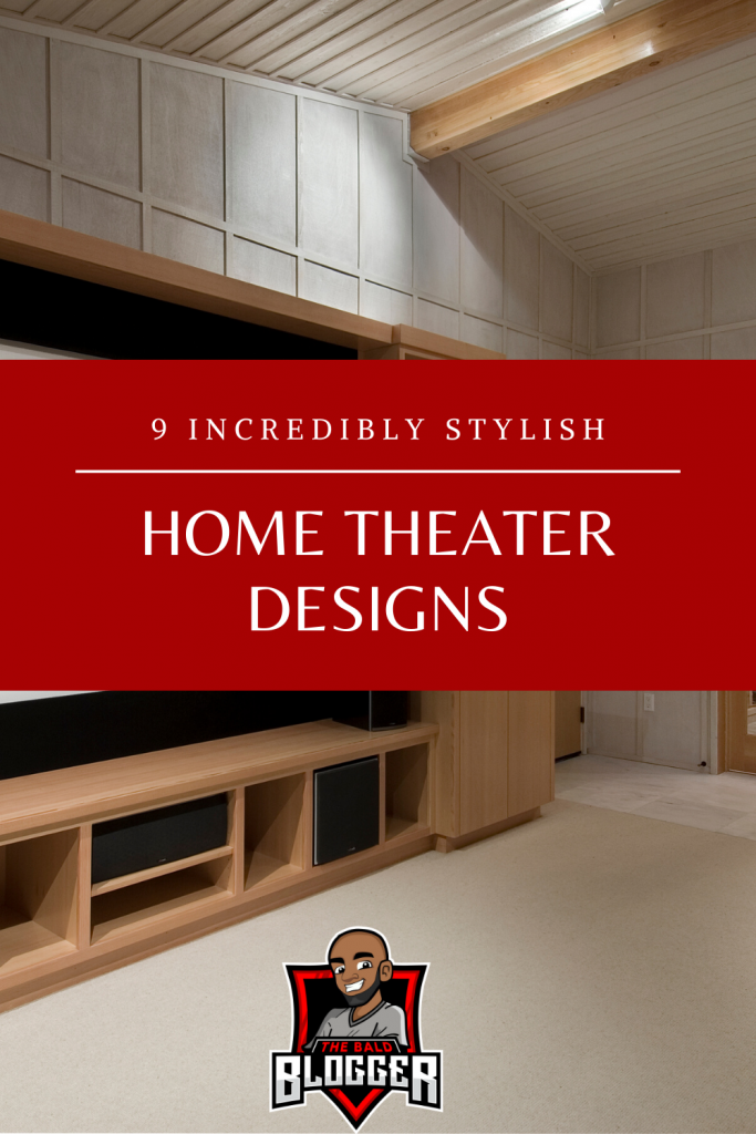 9 Stylish Home Theater Designs