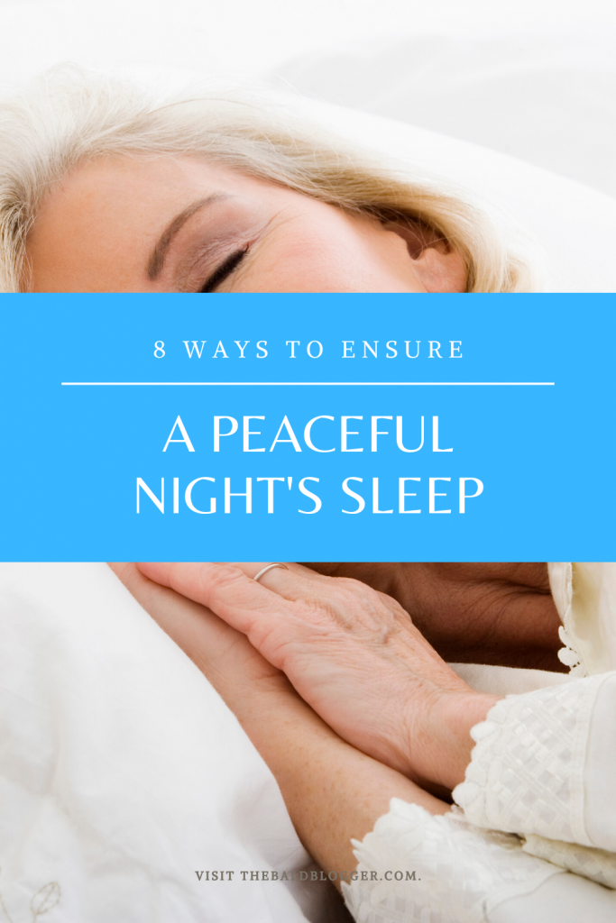 8 Ways For Restful Night's Sleep