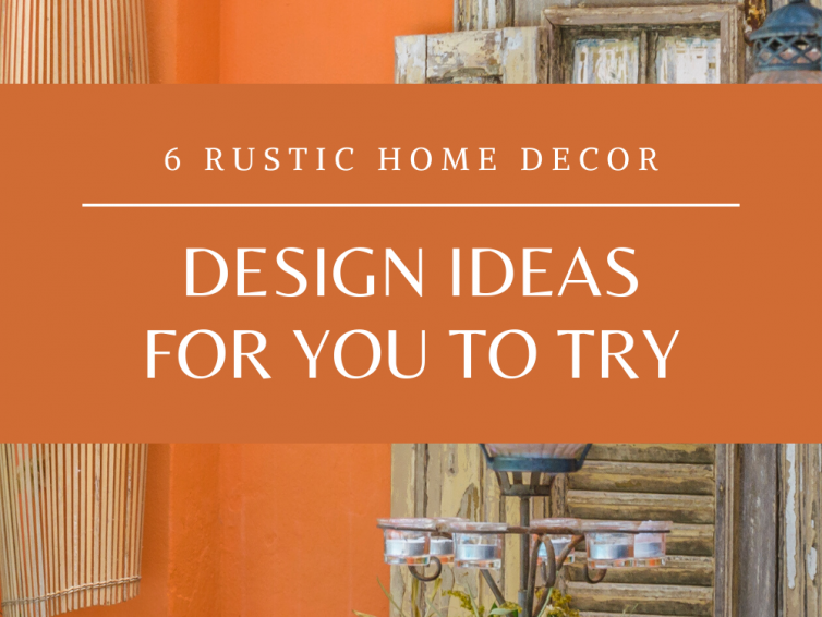 Rustic Home Decor DIY
