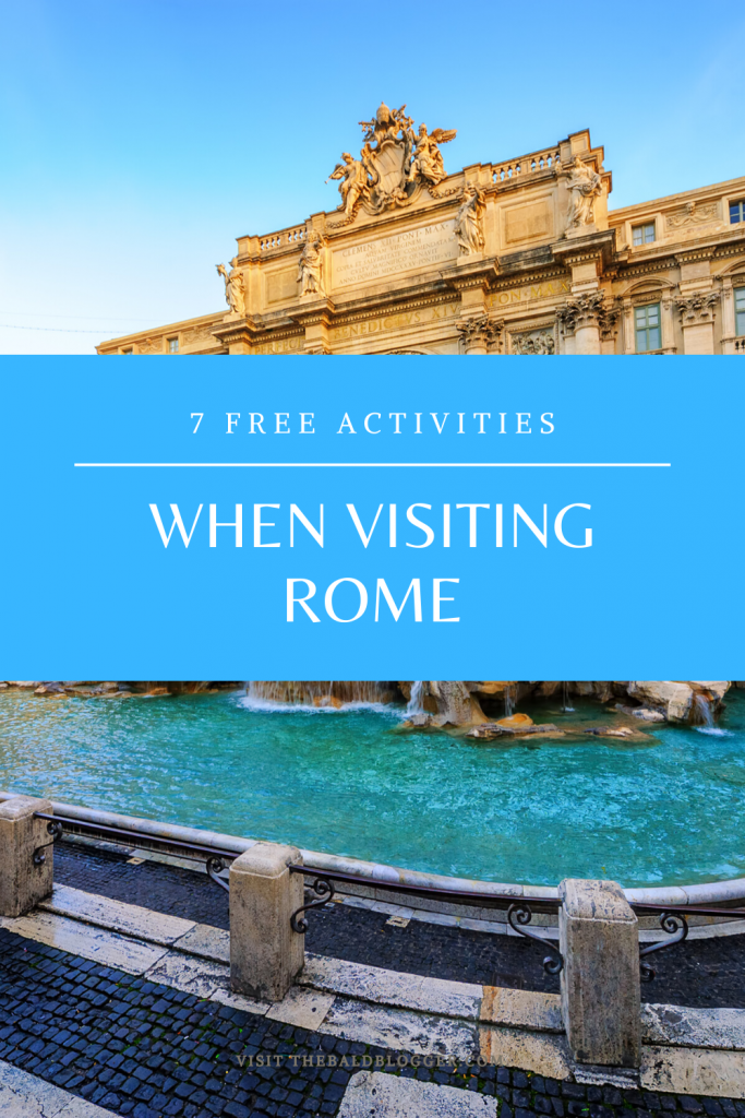 7 Free Activities When Visiting Rome
