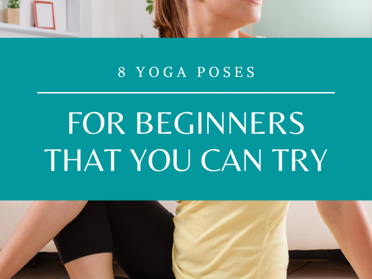 8 Yoga For Beginners Poses